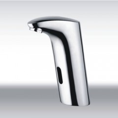 Cold Water Automatic Touchless Chrome Sensor Sink Faucet (QH0105)