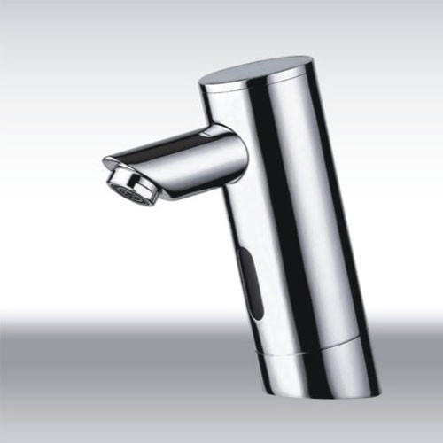 Sensor faucet cold water automatic touchless chrome