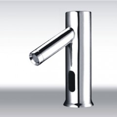 Cold Water Automatic Touchless Chrome Sensor Sink Faucet (QH0110)