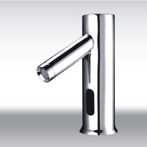 Cold water automatic touchless chrome sensor sink faucet