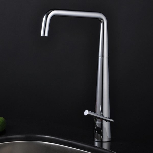 Contemporary Brass Kitchen Faucet 0725 - Faucets Online Shop