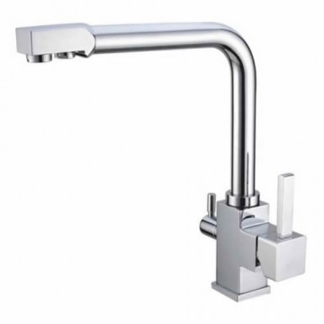 Hot And Cold Water And Ro Filter Brass Kitchen Sink Faucet