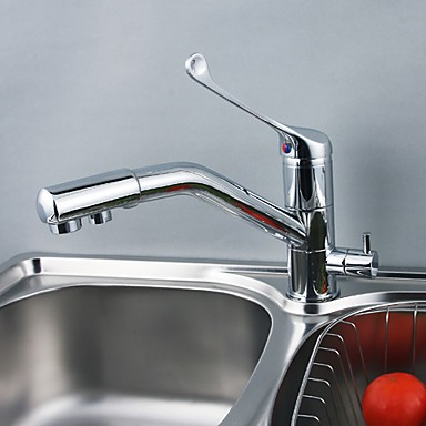 Solid Brass Kitchen Faucet with Drinking Water Function F0791 ...