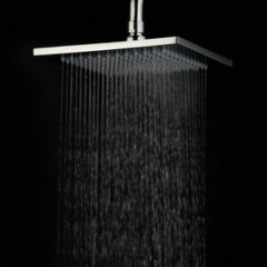 8  Inch Chromed Brass  Rain Shower Head HB08