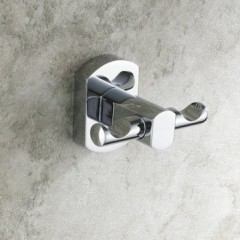 Chrome Finish Solid Brass Robe Hook CB7306