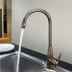 Centerset Antique Brass Kitchen Faucet F0428