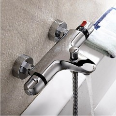 Thermostatic Chrome Finish Tub Faucet FT0214