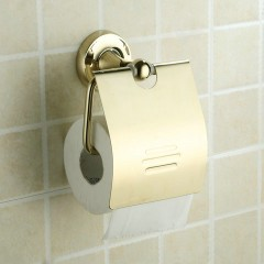Antique Brass Ti-PVD Wall-mounted Toilet Roll Holder FGB6910