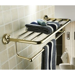 Antique Ti-PVD Finish Solid Brass Towel Bar WGB6903