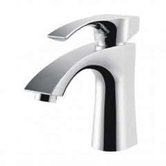 Contemporary Brass Single handle Bathroom Sink Faucet Countertop Basin Mixer Tap FA3035