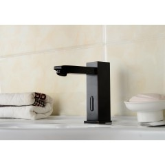 Oil-rubbed Bronze Bathroom Sink Tap with Automatic Sensor (Hot and Cold)  FA0116R