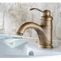 Antique Inspired Bathroom Sink Faucet - Antique Brass Finish FA0599-1A