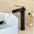 Vessel Single Handle One Hole in Oil-rubbed Bronze Bathroom Sink Faucet BL0703B